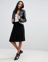 Pieces Tammi Pleated Skirt