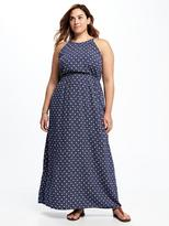Old Navy Printed Plus-Size Maxi Dress