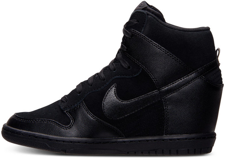 Nike Women's Dunk Sky High Casual Sneakers from Finish Line