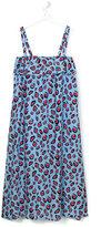 MSGM leopard print dress - kids - Silk - 14 yrs