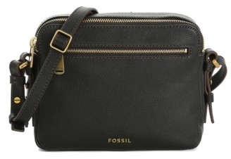Fossil Piper Leather Crossbody Bag