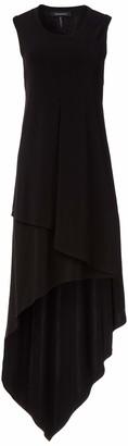 BCBGMAXAZRIA Women's High-Low Jersey Dress