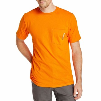 Timberland Men's Base Plate Short Sleeve T-Shirt with Chest Pocket