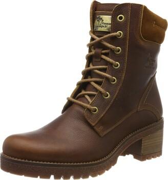 Panama Jack Phoebe Womens Ankle Boots Brown (Bark) 3 UK (36 EU)
