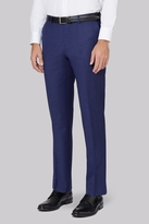 Ted Baker Tailored Fit Blue With Violet Check Pants