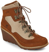 Timberland Rust Amston Hiker Wedge Boots
