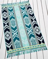 Jessica Simpson Cotton Aztec Beach Towel