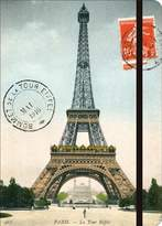 Cavallini & Co. Paris Eiffel Tower Large Lined Notebook