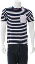 Band Of Outsiders Striped Patch Pockets T-Shirt
