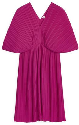 Arket Short Pleated Dress
