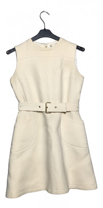 Ted Lapidus White Wool Dress for Women