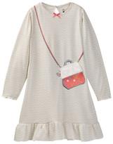 Petit Lem Reindeer Printed Purse Nightgown (Toddler & Little Girls)
