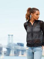 Victoria's Secret Victorias Secret Mesh Bomber Jacket