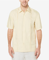 Cubavera Men's Pintucked Embroidered Shirt