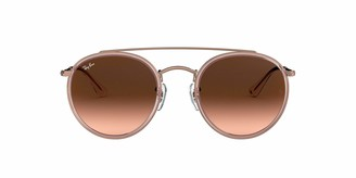 Ray-Ban Women's RB3647N Round Double Bridge Sunglasses