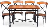 Shilo Wood & Metal 5-Pc. Dining Set, Direct Ship