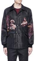 Lanvin 'Street Life' print coach jacket