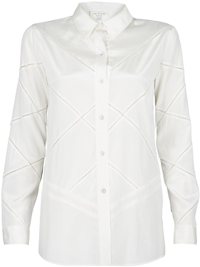 Rag and Bone Rag & Bone Leafy Boyfriend Top