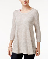 Style&Co. Style & Co Petite Striped Top, Only at Macy's