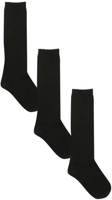 M&Co Knee high socks three pack