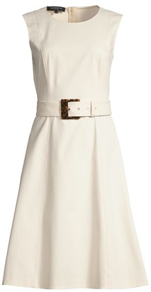 Lafayette 148 New York Leslie Fit & Flare Dress