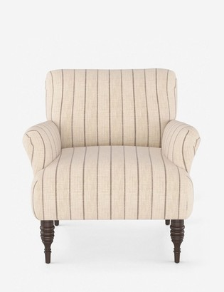 Lulu & Georgia Vyolet Accent Chair, Fritz Charcoal