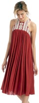 Sole Society Halter Flyaway Midi Dress