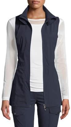 Anatomie Deleney Long Zip-Front Vest