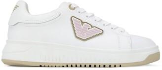 Emporio Armani Logo Patch Low-Top Sneakers