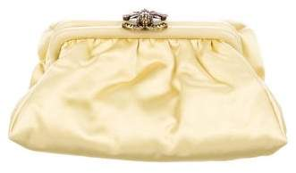 Chanel Satin Frame Evening Bag