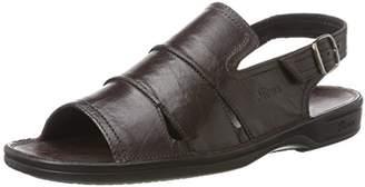 Sioux Men's 306 Open Toe Sandals Brown Size: 45