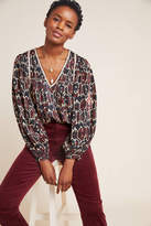 Maeve Veda Embroidered Blouse