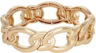 Dana Buchman Gold Tone Chain Link Stretch Bracelet