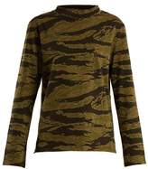 MiH Jeans Emelie camouflage-print cotton-jersey T-shirt