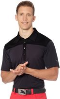 Puma Diamond Block Cresting Golf Polo Shirt