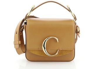 Chloé C Crossbody Bag Leather Mini