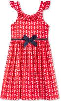 Good Lad Anchor Dress, Little Girls (2-6X)