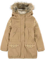 Ikks False-fur lined parka