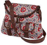JCPenney Olsenboye® Bohemian-Print Messenger Bag