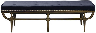 Mr & Mrs Howard Jeston Bench - Navy Velvet