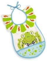 Mackenzie Childs Bow Tie Frog Bib