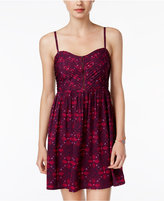 Roxy Juniors' Shore Thing Printed A-Line Dress