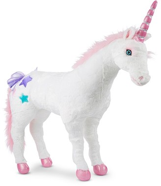 Pottery Barn Kids Melissa & Doug Jumbo Unicorn Plush