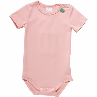 Fred's World by Green Cotton Baby Girls' Alfa S/s Body Shaping Bodysuit