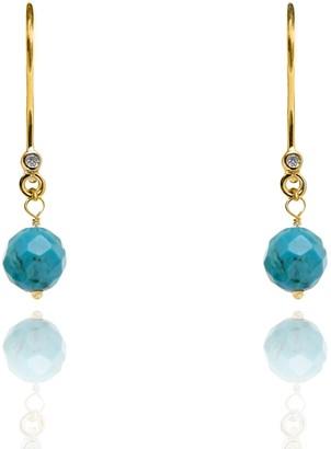 Turquoise Earrings December Birthstone