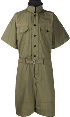 Sacai oversized utility jumpsuit