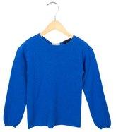 Oscar de la Renta Girls' Cashmere Crew Neck Sweater w/ Tags