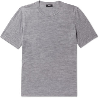 Theory Regal Melange Wool T-Shirt