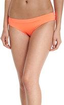 Vitamin A Adriana Hipster Bikini Swim Bottom, Orange