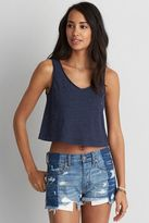 American Eagle Outfitters AE Cropped Swing T-Shirt
